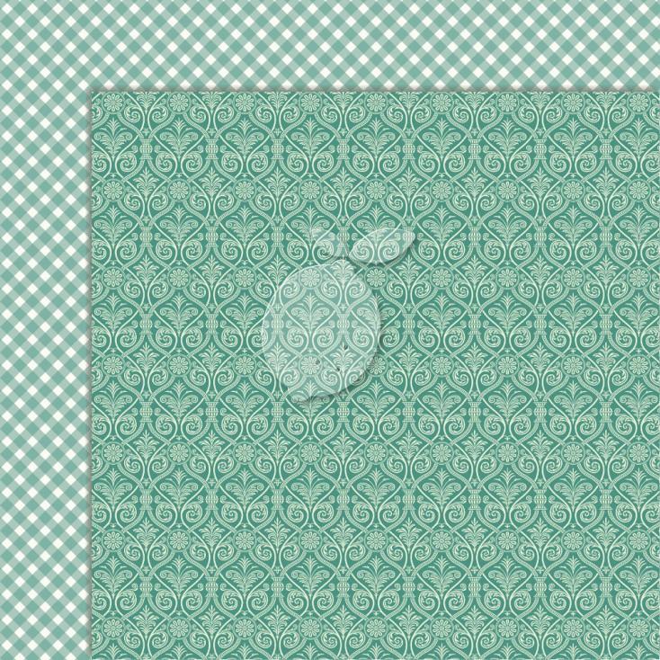 Double sided scrapbooking paper - ChrSweet Secrets