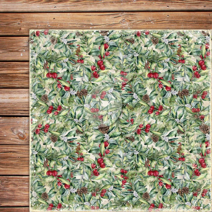Double sided scrapbooking paper - Yuletide 03