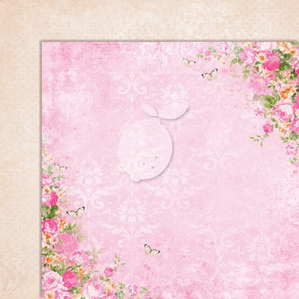 Double sided scrapbooking paper - Sweet Secrets 06