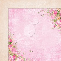 Double sided scrapbooking paper - Sweet Secrets 06