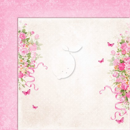 Double sided scrapbooking paper - Sweet Secrets 04