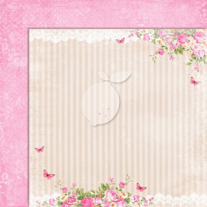Dwustronny papier do scrapbookingu - Sweet Secrets 03