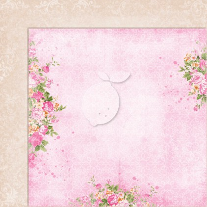 Double sided scrapbooking paper - Sweet Secrets 02