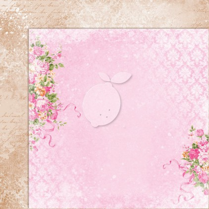 Double sided scrapbooking paper - Sweet Secrets 01