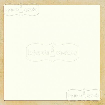 Latarnia Morska - Album base square 30 x 30 cm