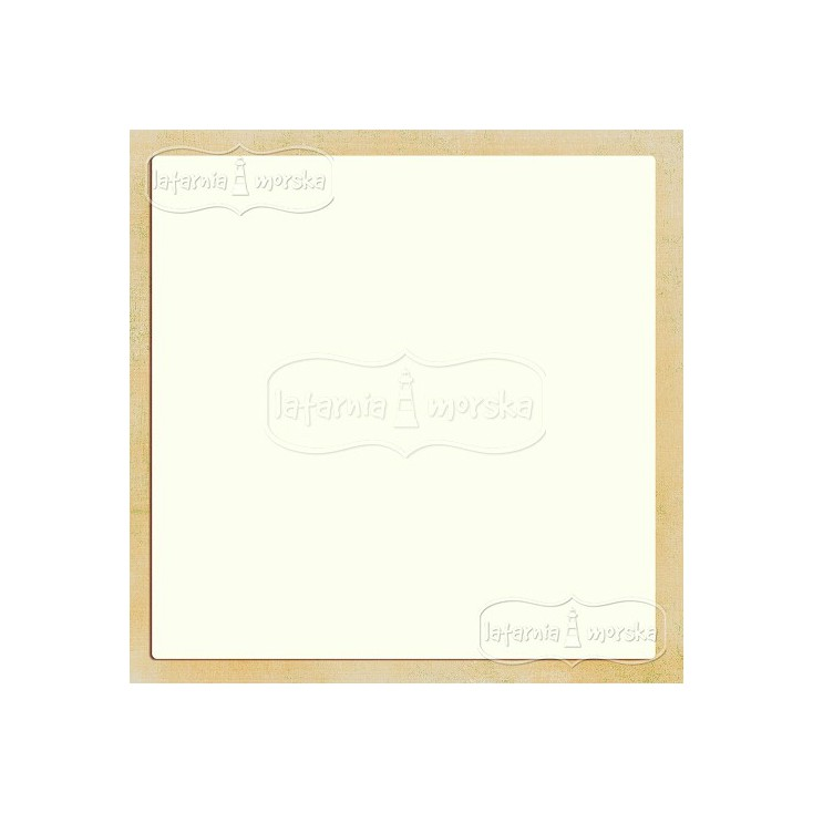 Latarnia Morska - Baza albumowa kwadratowa 30x30 cm