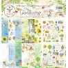 Set of scrapbooking papers - Bee Shabby - My Gardening
