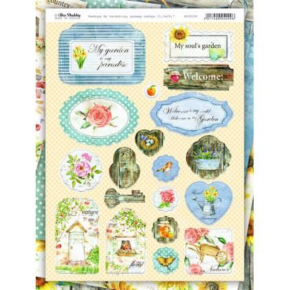 chipboards kształty z tektury - My Gardening - 500240 - Bee Shabby