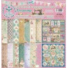 Set of scrapbooking papers - Bee Shabby - Needlewoman