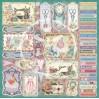 Zestaw papierów do tworzenia kartek i scrapbookingu - Bee Shabby - Rękodzielniczka