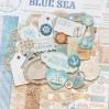 Zestaw grubych tekturowych kształtów - Bee Shabby - SEA adventure