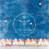 Set of scrapbooking papers - Bee Shabby - Boy Story
