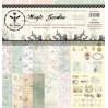 Zestaw papierów do tworzenia kartek i scrapbookingu - Bee Shabby - Magic Garden