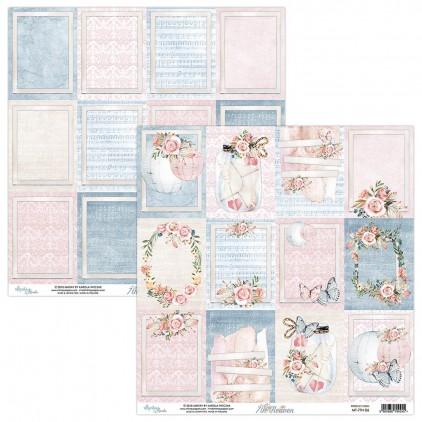 Papier kwiatowy - Papier do scrapbookingu - Mintay Papers -7th Heaven 06