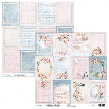 Scrapbooking paper - Mintay Papers - 7th Heaven 06