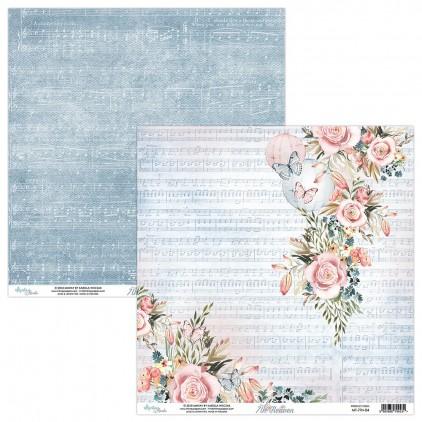 Papier kwiatowy - Papier do scrapbookingu - Mintay Papers -7th Heaven 04