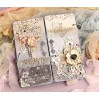 Set of scrapbooking papers - Bee Shabby - Happiness