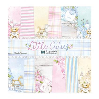 Zestaw papierów do tworzenia kartek i scrapbookingu - ScrapAndMe - Little Cuties