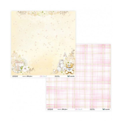 Set of scrapbooking papers - ScrapAndMe - Little Cuties - 11/12