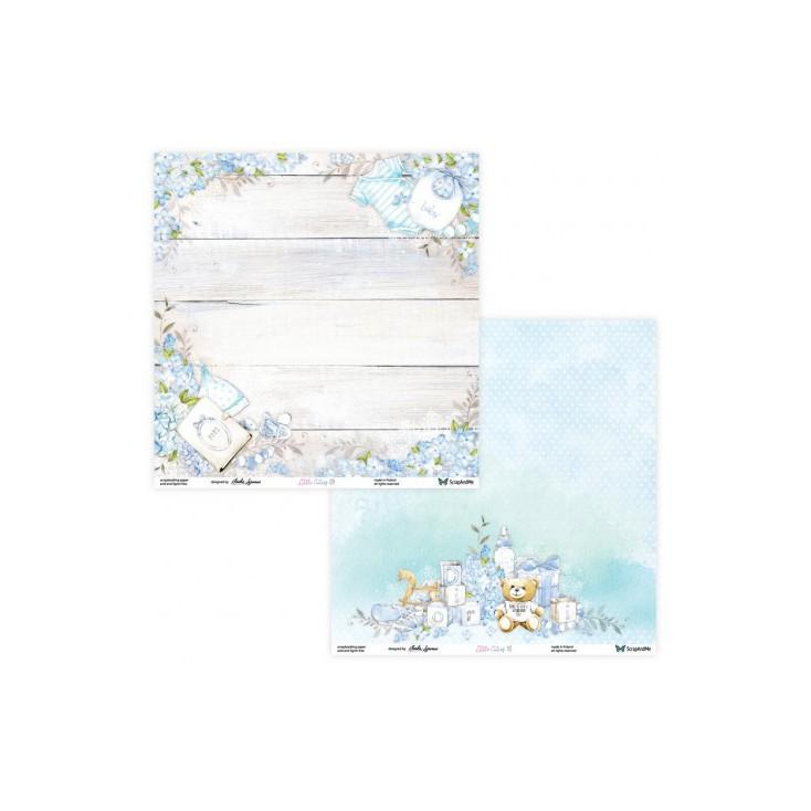 Set of scrapbooking papers - ScrapAndMe - Little Cuties - 09/10