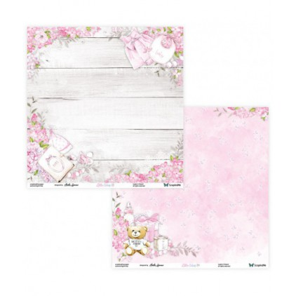 Set of scrapbooking papers - ScrapAndMe - Little Cuties - 03/04