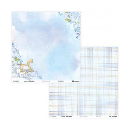 Papier do tworzenia kartek i scrapbookingu - ScrapAndMe - Little Cutis - 01/02