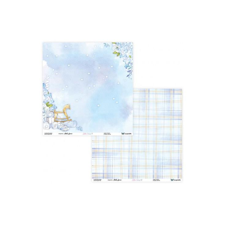 Set of scrapbooking papers - ScrapAndMe - Little Cuties - 01/02