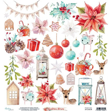 Scrapbooking paper - Mintay Papers - Christmas Stories