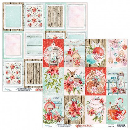 Scrapbooking paper - Mintay Papers - Christmas Stories 06