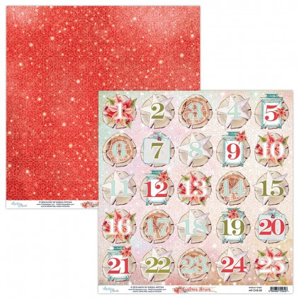 Papier do scrapbookingu - Mintay Papers - Christmas Stories 05