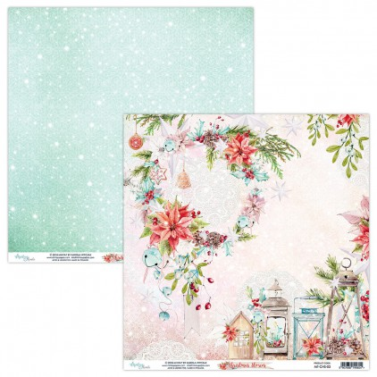 Scrapbooking paper - Mintay Papers - Christmas Stories 03