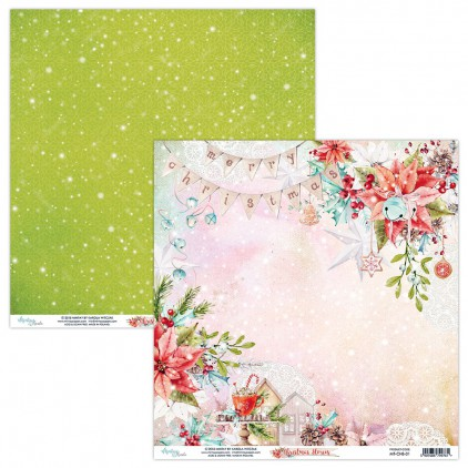 Papier do scrapbookingu - Mintay Papers - Christmas Stories 01