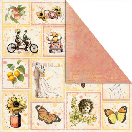 Scrapbooking paper - UHK Gallery - Bananarama- Pictures of life