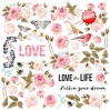 Set of scrapbooking papers - Fabrika Decoru - Sensual love