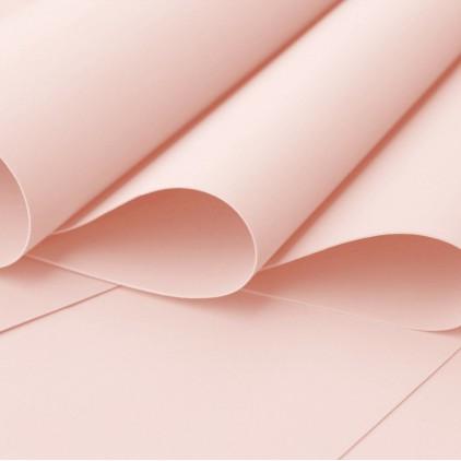 Silk foam, foamiran, artistic foam - 0,6 mm - light peach