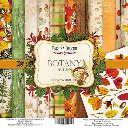 Zestaw papierów do tworzenia kartek i scrapbookingu  20x20 - Fabrika Decoru - Botany Autumn