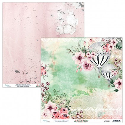 Scrapbooking paper - Mintay Papers - Secret Place 03