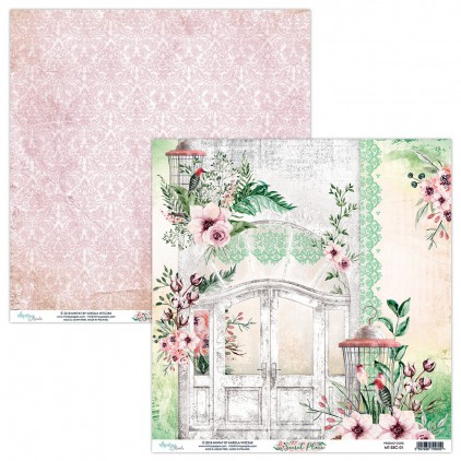 Papier do scrapbookingu - Mintay Papers - Secret Place 01