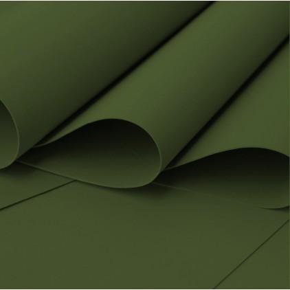 Silk foam, foamiran, artistic foam - 0,6 mm - khaki