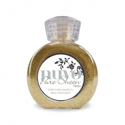 Nuvo Pure Sheen Glitter - Powdered glitter- Light gold