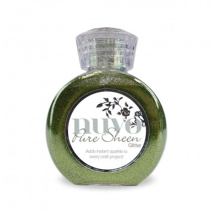 Nuvo Pure Sheen Glitter - Brokat sypki - Olive Green