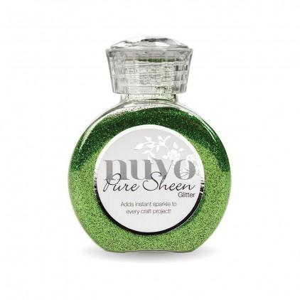 Nuvo Pure Sheen Glitter - Powdered glitter- Green Meadow