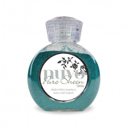 Nuvo Pure Sheen Glitter - Powdered glitter-Turquoise