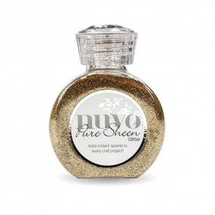 Nuvo Pure Sheen Glitter - Brokat sypki - Rose Gold