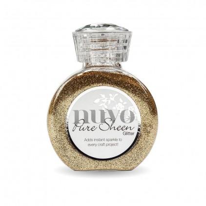 Nuvo Pure Sheen Glitter - Powdered glitter - Rose Gold