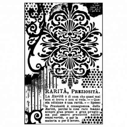 Stempel / pieczątka - Stamperia - Dekoracyjne pismo
