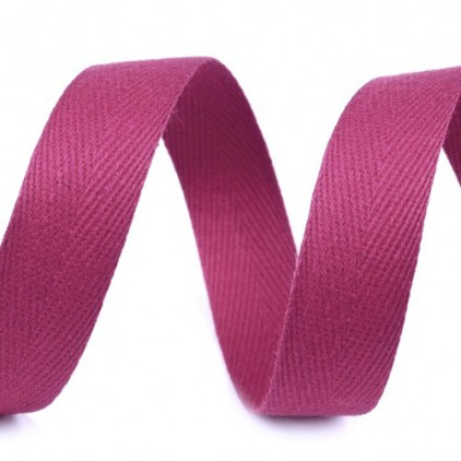 Cotton trim - 14mm - 1 meter - Grape