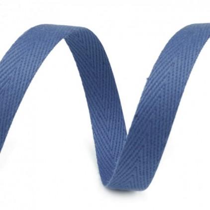 Taśma bawełniana - szerokość 1cm - 1 metr - Denim