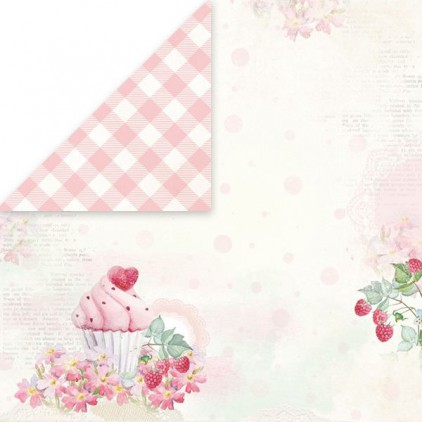 Scrapbooking paper - Craft and You Design - Sweet Dessert 01