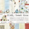 Zestaw papierów do tworzenia kartek i scrapbookingu -Home... Sweet Home